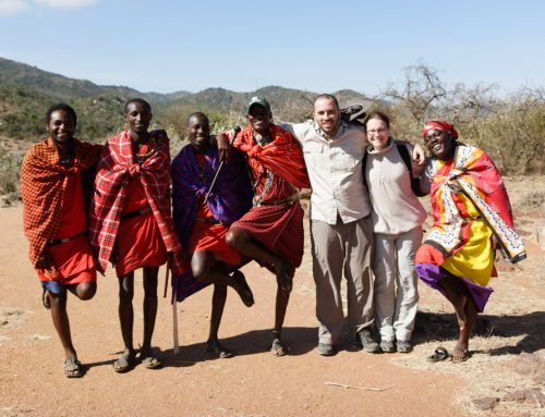 KENIJA 8. del: Maji Moto – Masai Mara