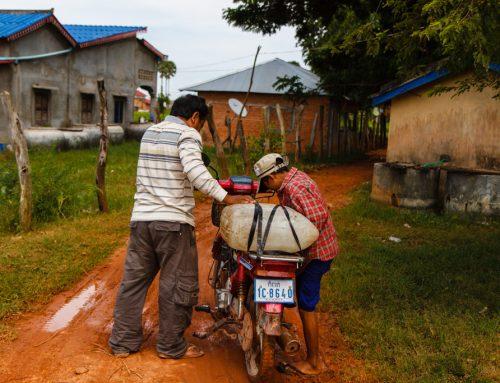 Kambodža – 6. del: Okolica Kampota